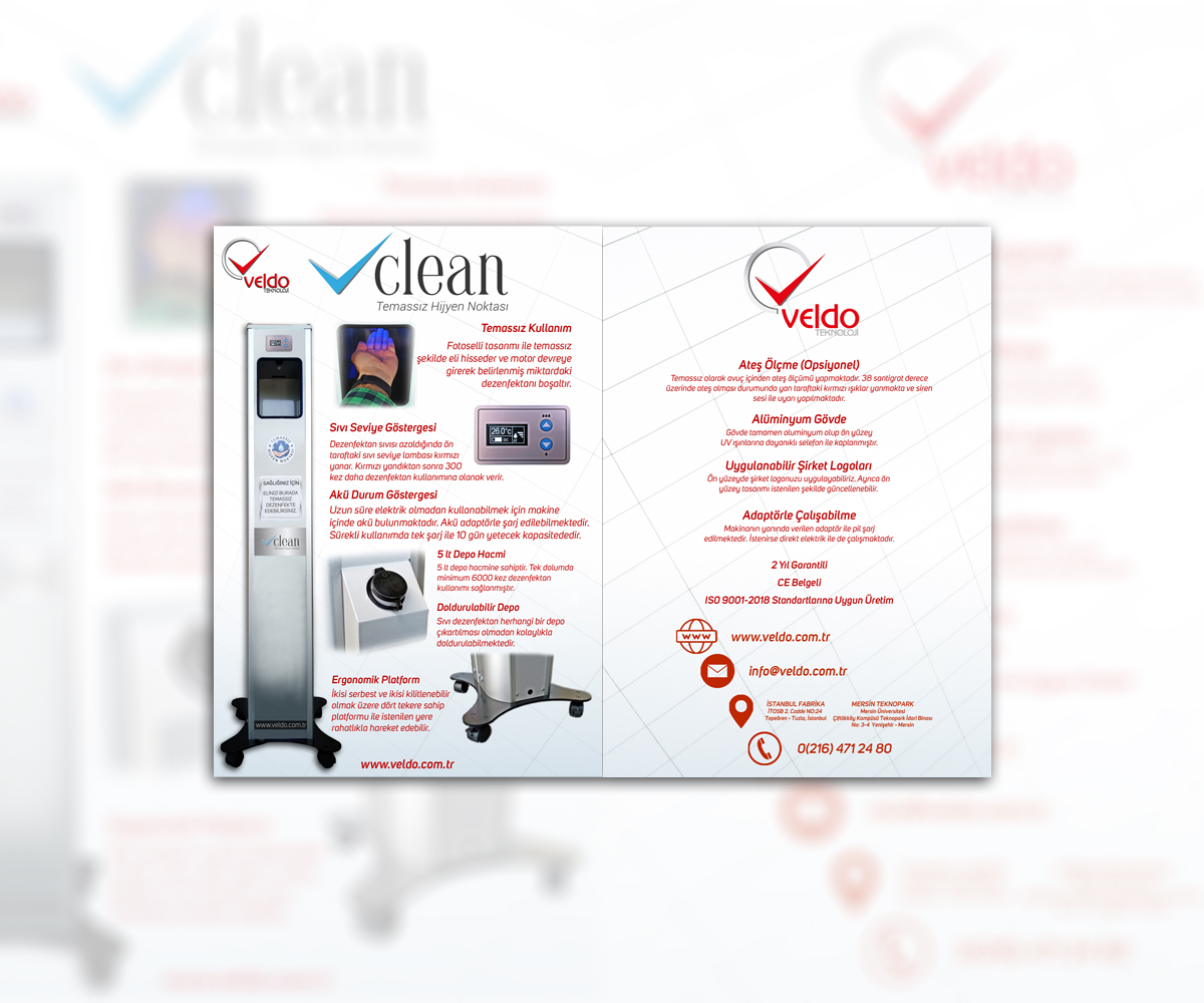 vClean Contactless Disinfectant Machine